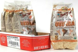 4 Bags Bob's Red Mill 16 Oz Organic Whole Grain GF Quinoa Grain Of The Andes