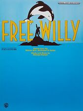 Michael Kamen: Free Willy (tema de TV) (piano/Vocal/Guitarra Partituras) -! como Nuevo!