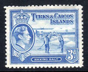 TURKS & CAICOS-,,,1938-45...SG 200  .. 3d    LMM