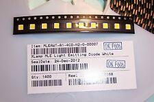 CREE XL 0.5Watt SMD Cool White PLCC-4 PLCC4 LED's Qty 10 New genuine Cree parts
