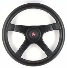 Personnel Fittipaldi VW black leather Car Steering Wheel 350 mm. Genuine Nardi .8 C