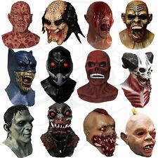 Látex Halloween Overhead Hecho a Mano Vampiro Terror Zombies Goonies Máscaras