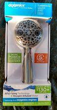 Oxygenics Chrome 5-Spray Handheld Shower Head