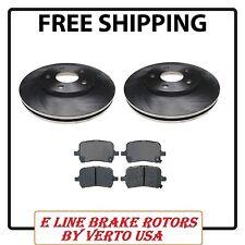 Set of 2  Front Brake Rotors & Ceramic Pads  fits 06-11 Chevrolet HHR  E-Line