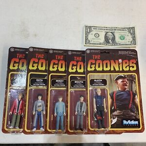 Funko ReAction figures The Goonies punched complete set.