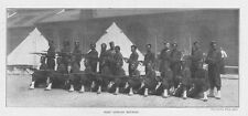 West African Houssas Soldiers - Antique Print 1897