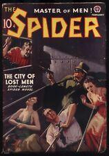 The Spider - February, 1938 - Hero Pulp Magazine - NR - High Grade