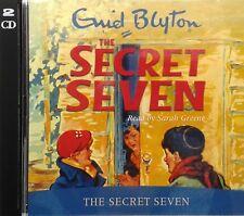 The Secret Seven Audio Book, Enid Blyton - Book 1 - Read by Sarah Greene - New