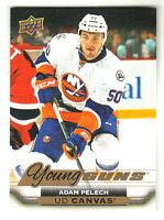 2015-16 Upper Deck Young Guns CANVAS #C213 ADAM PELECH RC New York Islanders