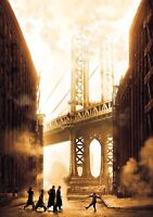 ONCE UPON A TIME IN AMERICA Movie PHOTO Print POSTER Textless Film Art 001