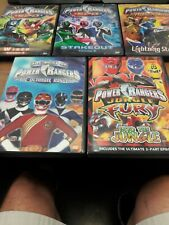 Power Rangers Collection. Hard to find DVD's.
