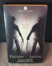 FREDDY VS. JASON Book New Line Cinama By Stephen Hand Rare