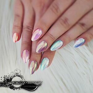 Rainbow Aurora Pigment super Qualität gelnägel nägel nail nailart mirror