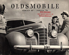 1939 Oldsmobile Original Brochure 60 70 80 Series