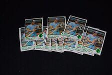 Lot of (22) 1973 Topps Ken Singleton (Expos) Baseball Cards-#232-NM/MT