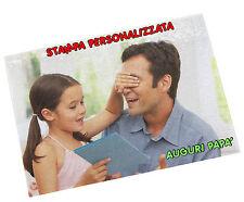 PUZZLE PERSONALIZZATO STAMPA PERSONALIZZATA 112 TASSELLI FOTO FESTA DEL PAPà A3
