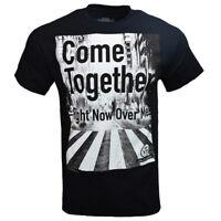 THE BEATLES Mens T Shirt S M L XL John Lennon Rock Roll Band Black Vintage NEW