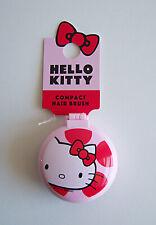 Hello Kitty Compact Hair Brush & Mirror by Sanrio. Compact Travel School