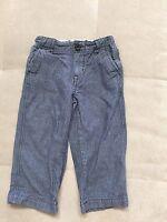 Baby Boy Gap Blue Pants Size 2T