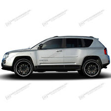 For: JEEP COMPASS; PAINTED Body Side Moldings Mouldings Trim 2007-2016