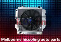 3 Rows Aluminum Radiator+Fan for Jeep Wrangler YJ TJ LJ RHD 2.4L-4.2L 1987-2006