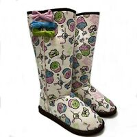 IRON FIST SHOES KILLER CUPCAKES SHERPA FUGG WINTER BOOTS (UK 6 EUR 38.5)