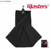 Masters Golf Tri-Fold Towel player Cart Golf Towel