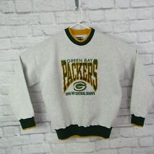 Vintage Green Bay Packers Large Crew Neck Sweatshirt 1996 NFC Central Champs