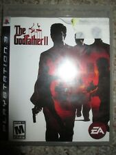 Godfather II 2 (Sony Playstation 3, 2009) PS3 w/ Case