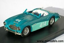 AUSTIN HEALEY 100/6 1957 Mille Miglia CLASS WINNER #414 1:43 white metal