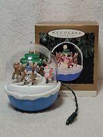 Hallmark Keepsake Ornament Magic North Pole Merrython Light And Motion
