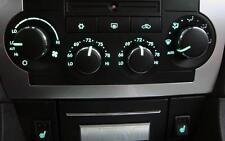 CHRYSLER 300c/SRT8 clima/riscaldamento HVAC/Pannello di controllo LAMPADINA Kit di sostituzione.
