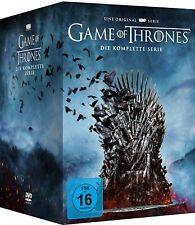 Game Of Thrones die komplette Serie Staffel 1-8 Im Digipack 35 DVDs