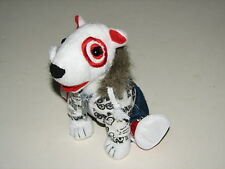 Target Bullseye Plush Stuffed Dog Love Peace Zip-up Hoodie Jeans Red Shoes 2011