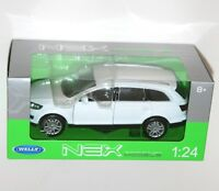 Welly - AUDI Q7 (White) - Die Cast Model Scale 1:24