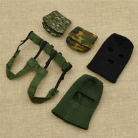 "1:6 Scale Toy Soldier Accessory Army Bags Caps Model For 12""in Action Figure"