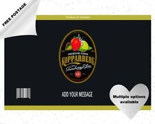 KOPPARBERG CIDER CAN/BOTTLE labels edible icing cake & cupcake toppers