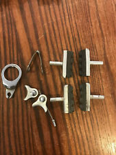 MAFAC brake pad and hardware lot in ex. used cond.