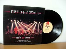 "TWELFTH NIGHT ""Live And Let Live"" Original UK LP 1984 (MUSIC FOR NATIONS MFN 18)"
