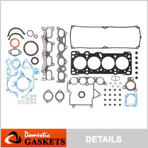 Fits Mazda Progete 1.8L 16V SOHC New Full Gasket Set BPE