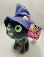 "NEW Disney Junior Vampirina Phoebe The Cat Stuffed Animal Bean Bag 9"" Plush"