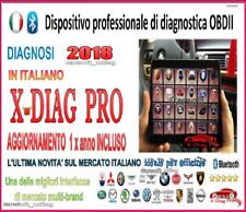 ✅ NOVITA  X-DIAG PRO ITALIANO 2018 DIAGNOSI AUTO PROFESSIONALE UNIVERSALE ✅