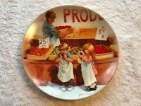 """""""FRINGE BENEFITS,""""  New, Old Stock, Vtg. Knowles Collector Plate 1985  J. Down"""