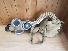 WW2 Homeguard Gas Mask with Outfit Anti-Dimming MK V dated 1938
