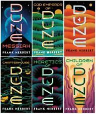 DUNE Series Books 1-6 by Frank Herbert - Complete Set - Mass Market Paperback