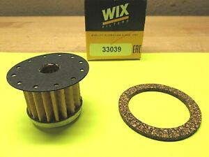 1958 - 1967 CADILLAC FUEL FILTER WITH CORRECT FITTING GASKET 854567 GF-149