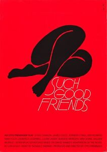 SUCH GOOD FRIENDS POSTER FILM A4 A3 A2 A1 LARGE FORMAT CINEMA MOVIE