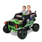 Kids Monster Jam Grave Digger 2 Seat Rider 24-Volt Battery Power Toddler Ride-On