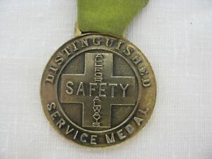"Vintage Unique Safety Award ""ALL FOUR ALWAYS""  He Risked His Life To Save Others"