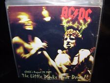 "AC/DC little punks have done it ( rock ) 7""/45 picture sleeve CLEAR"